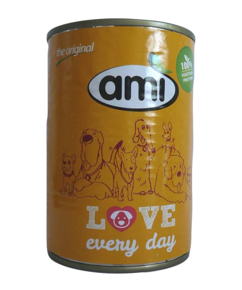 Alimento húmido para cão Amì 400 g