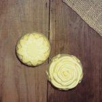Sabão Artesanal Hidratante de Manteiga de Cacau e Camomila 90g