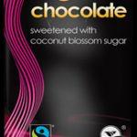 Chocolate biológico com açúcar de coco 100g - sem glúten